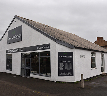 Cascade Carpets Showroom